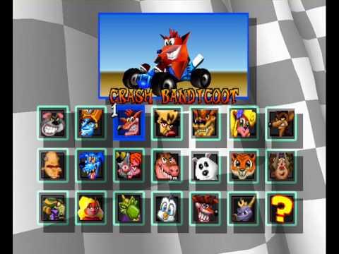 Crash Team Racing (claves Atajos Trucos)